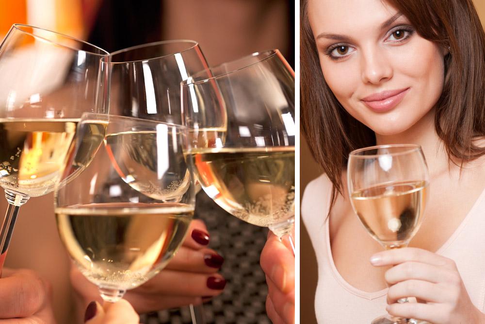 lufta vitt vin